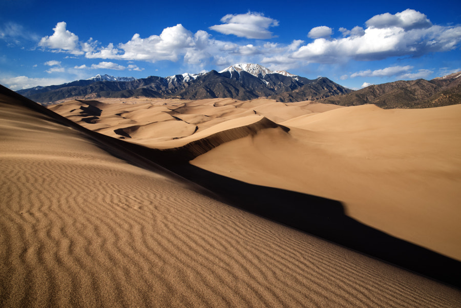 Photograph The Great Sand Dunes by Nick Henderson on 500px