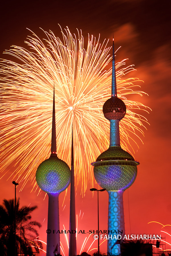 Photograph Kuwait's 50th Birthday by Fahad Alsharhan on 500px