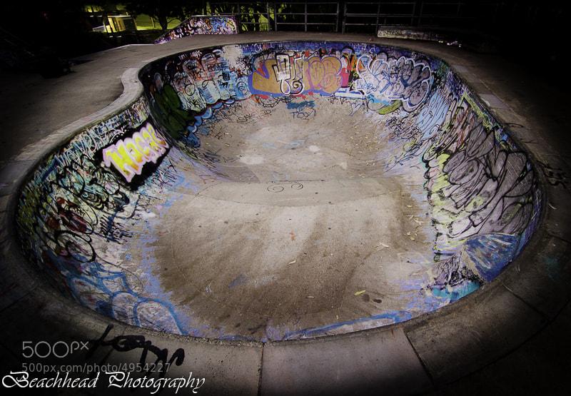 Photograph Skate Bowl  by Graeme Gordon on 500px
