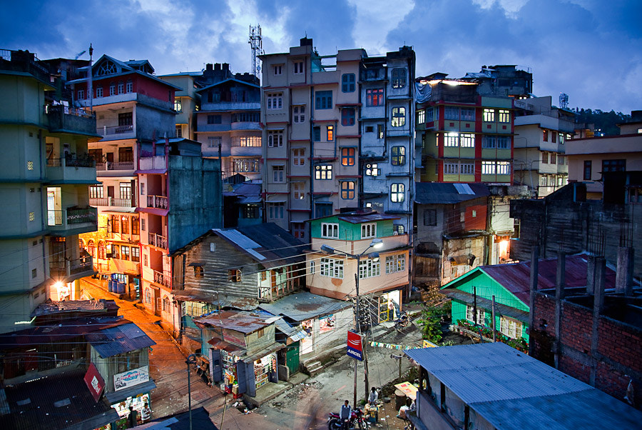 Photograph Kalimpong, Blue Hour by David Pinzer on 500px