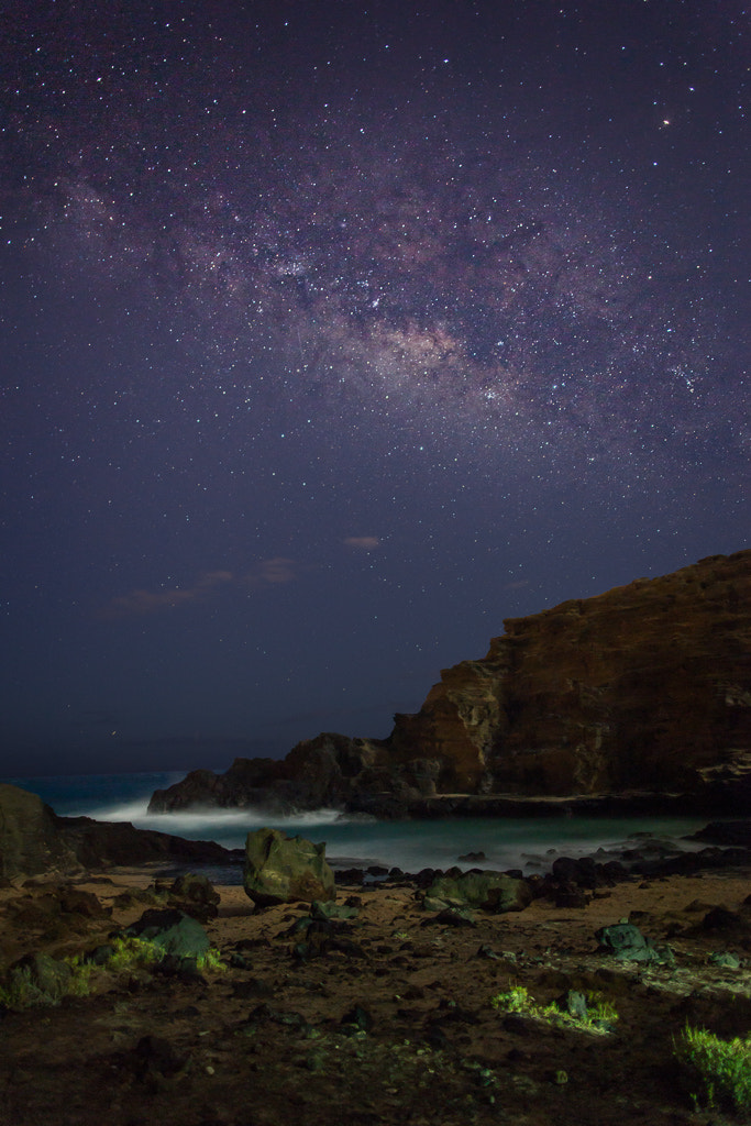Photograph Milky Way Over Eternity Beach by Bob Matcuk on 500px