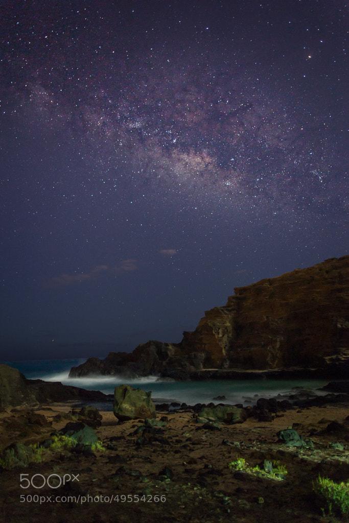 Photograph Milky Way Over Eternity Beach by Bob Matcuk on 500px