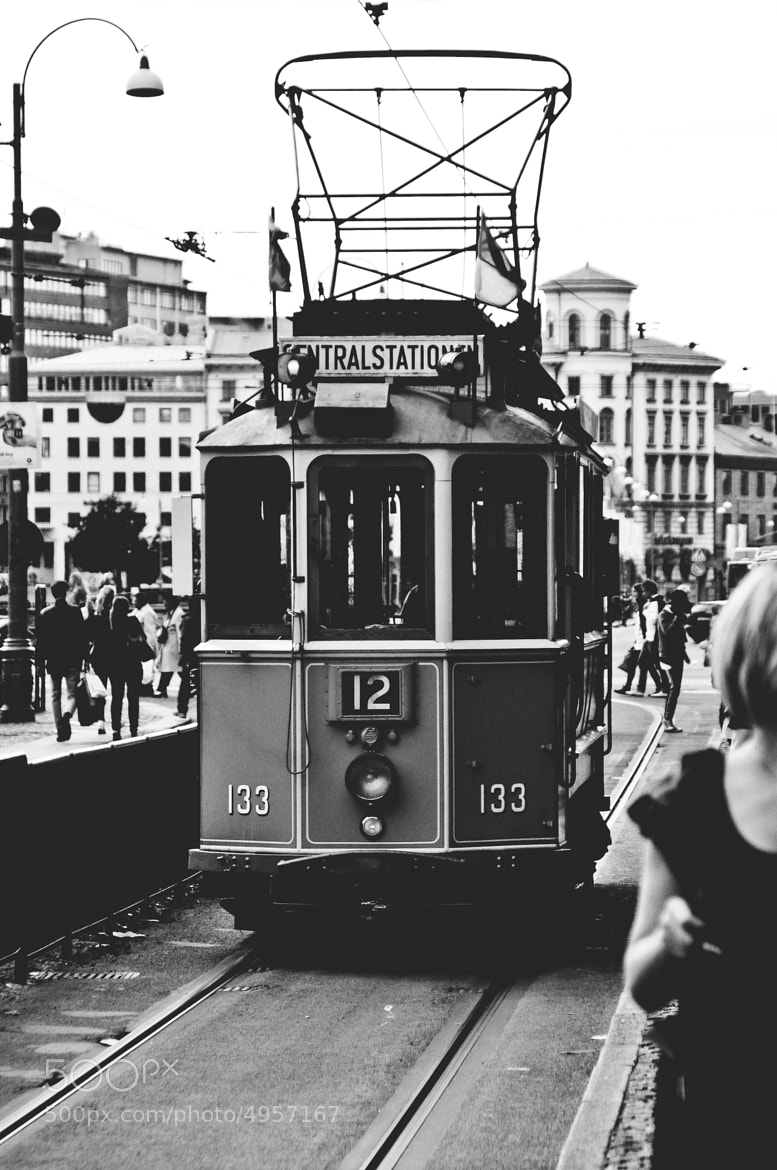 Photograph tramway in Göteborg  by Alex Drl on 500px