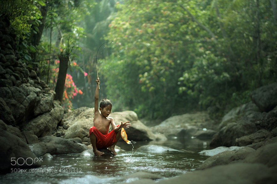 Photograph got a fish by asit  on 500px