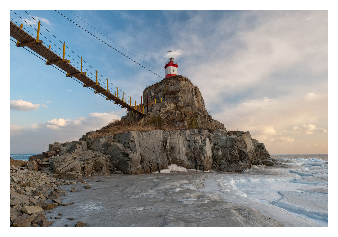 Photograph Winter Lighthouse by Ivan Borovkov on 500px