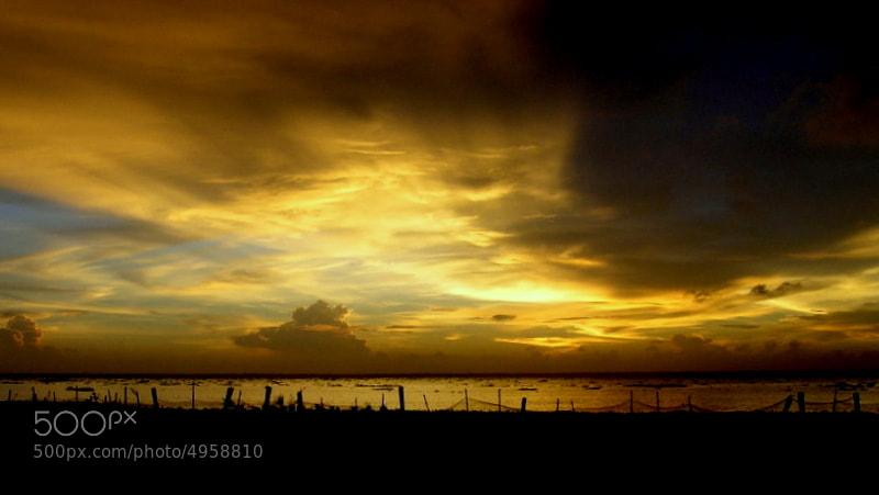 Photograph Sunset in kerala by Samrat  Mukhopadhyay on 500px