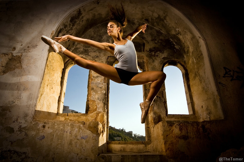 Photograph Jumping Yuval Flash by Tomer Jacobson on 500px