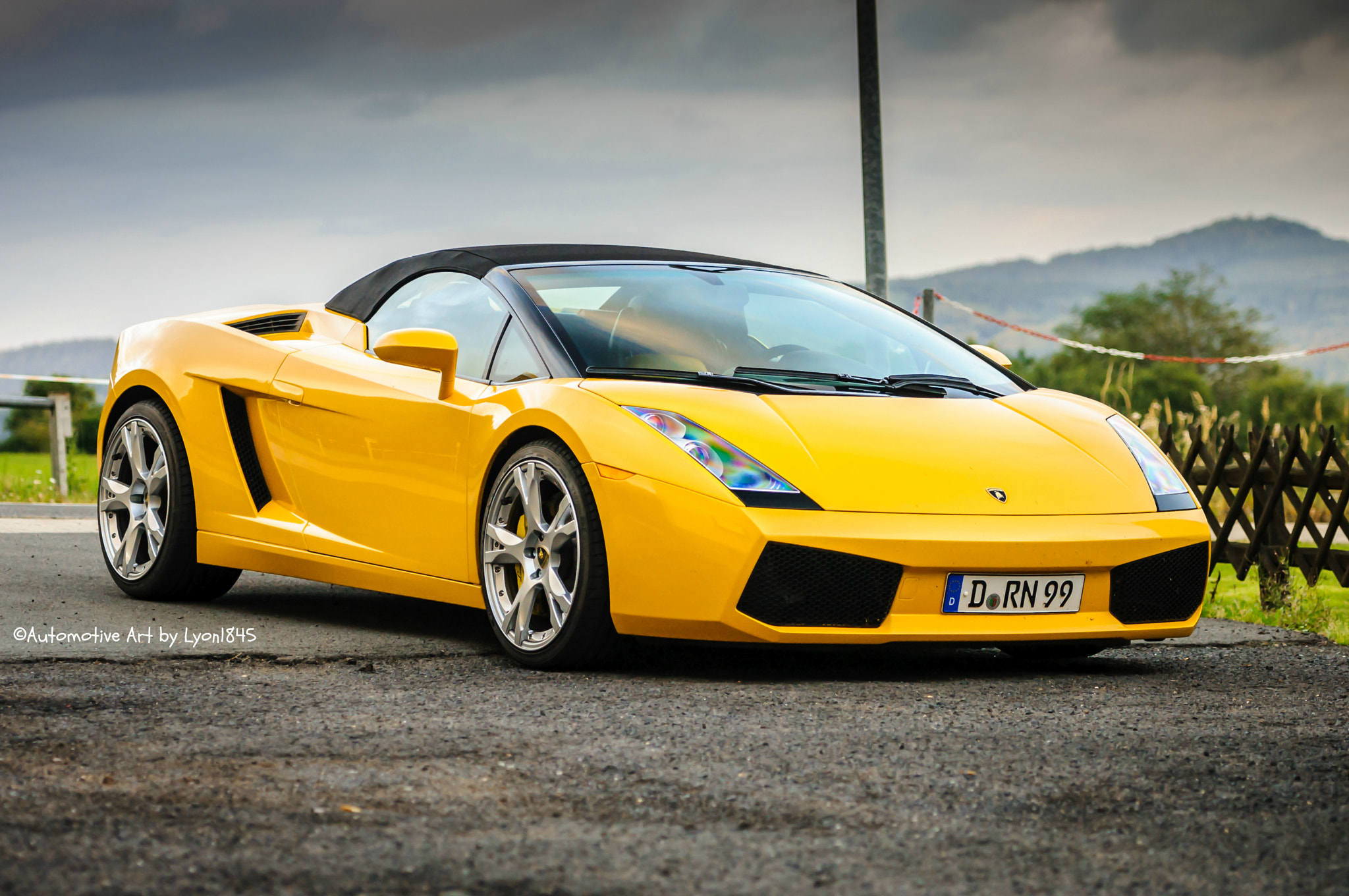Photograph Lamborghini Gallardo Spyder by lyon1845 on 500px