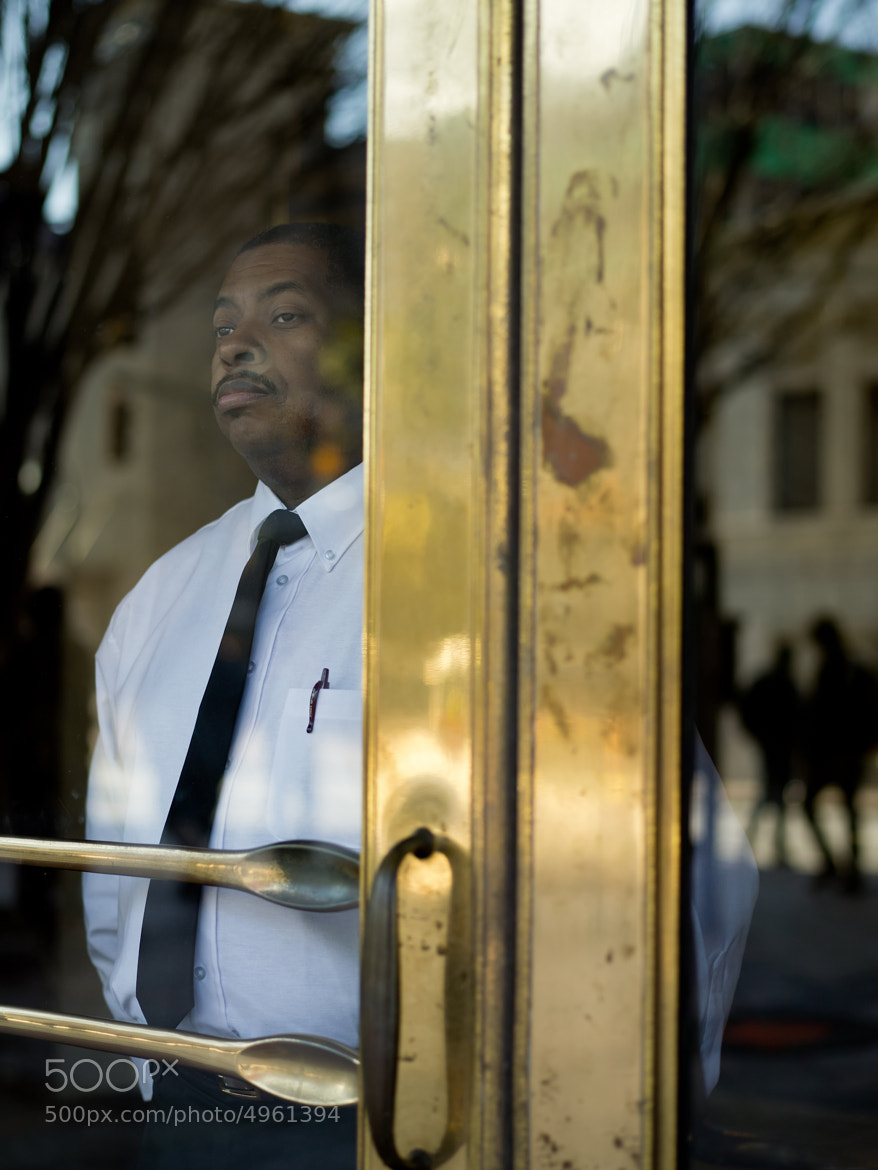 Photograph Doorman :: ATL Street Portraits by Zack Arias on 500px