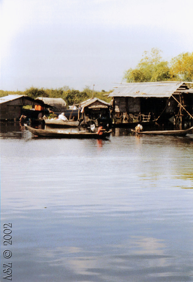 Cambodia 2002. Shot was taken by an Analog camera