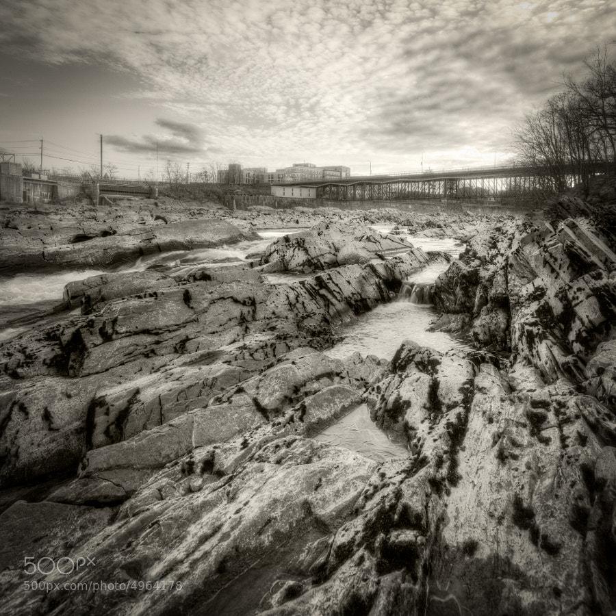 Textile Memorial Bridge, Lowell, Massachusetts