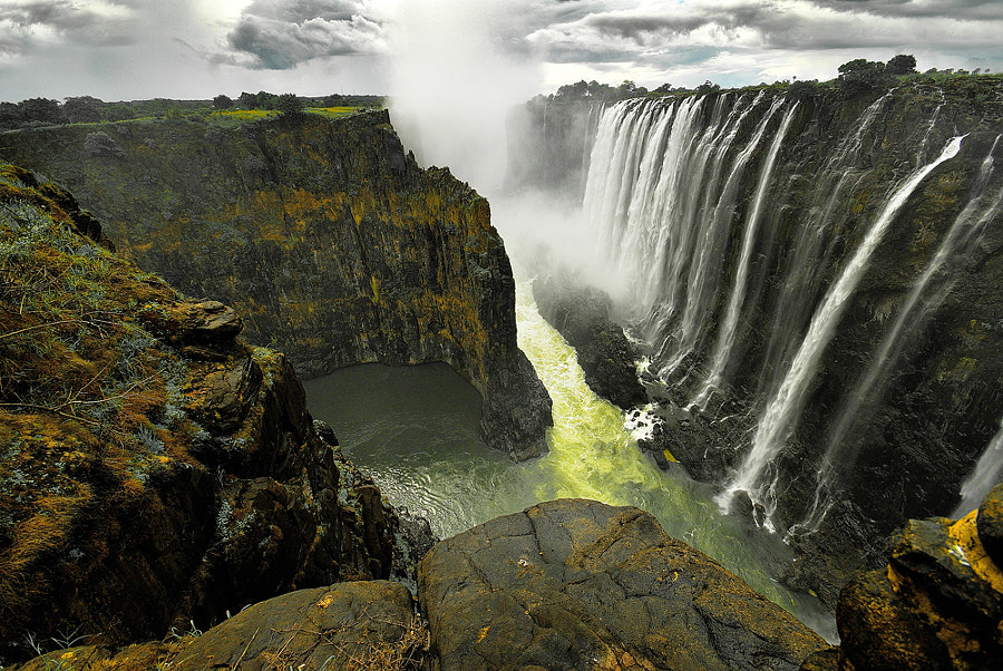 Victoria Falls # 2 by Aubrey Stoll on 500px.com