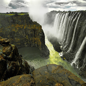 Victoria Falls # 2 by Aubrey Stoll (Night_Gallery)) on 500px.com