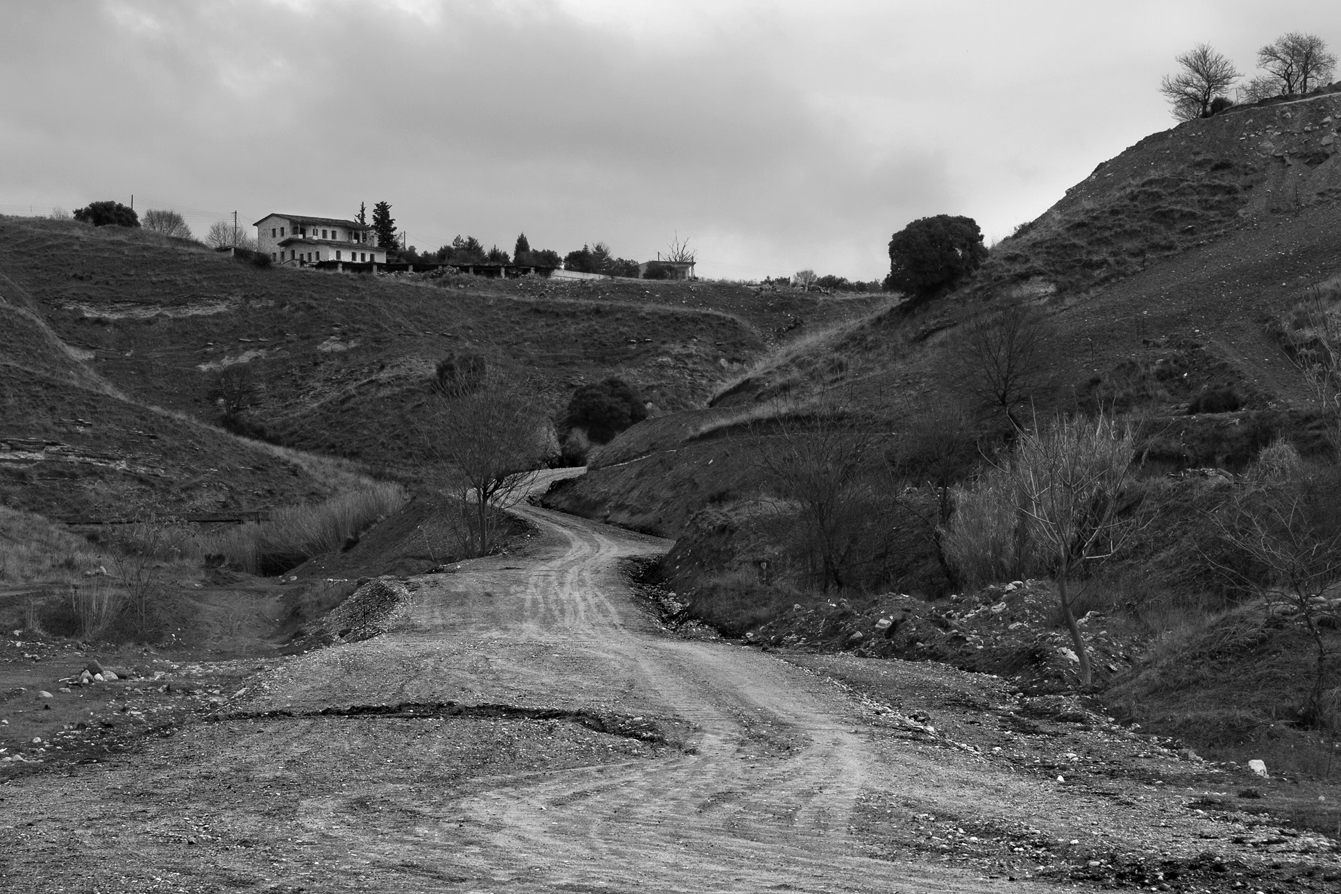 "Photograph ""Dirt Road"" by Kounoupis Anastasios  on 500px"