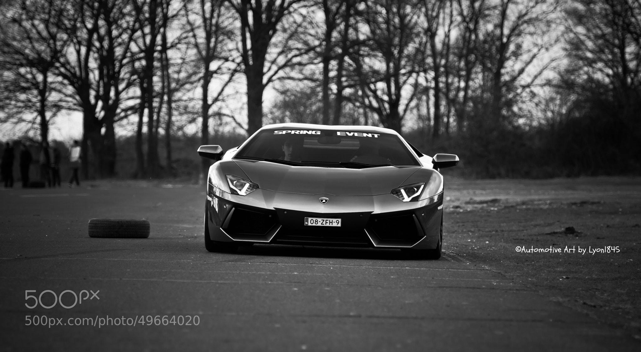 Photograph Lamborghini Aventador by lyon1845 on 500px