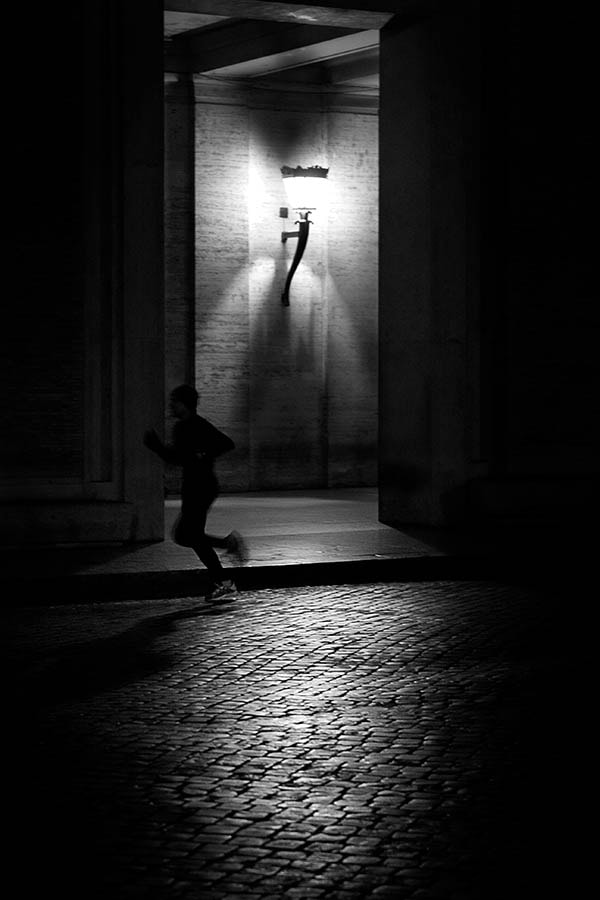 Photograph night runner by massimo raldeni on 500px