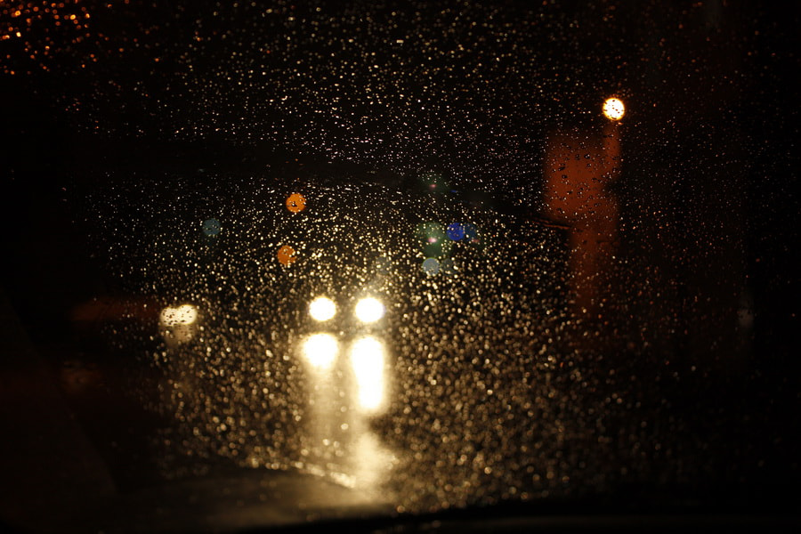 Photograph Rainy night driving by Mahdi Nosrati on 500px