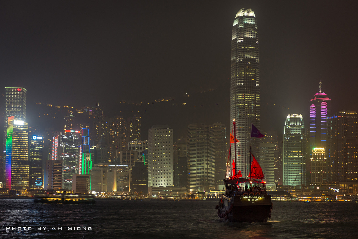 Photograph Victoria Harbour, Hong Kong by Ah Siong on 500px