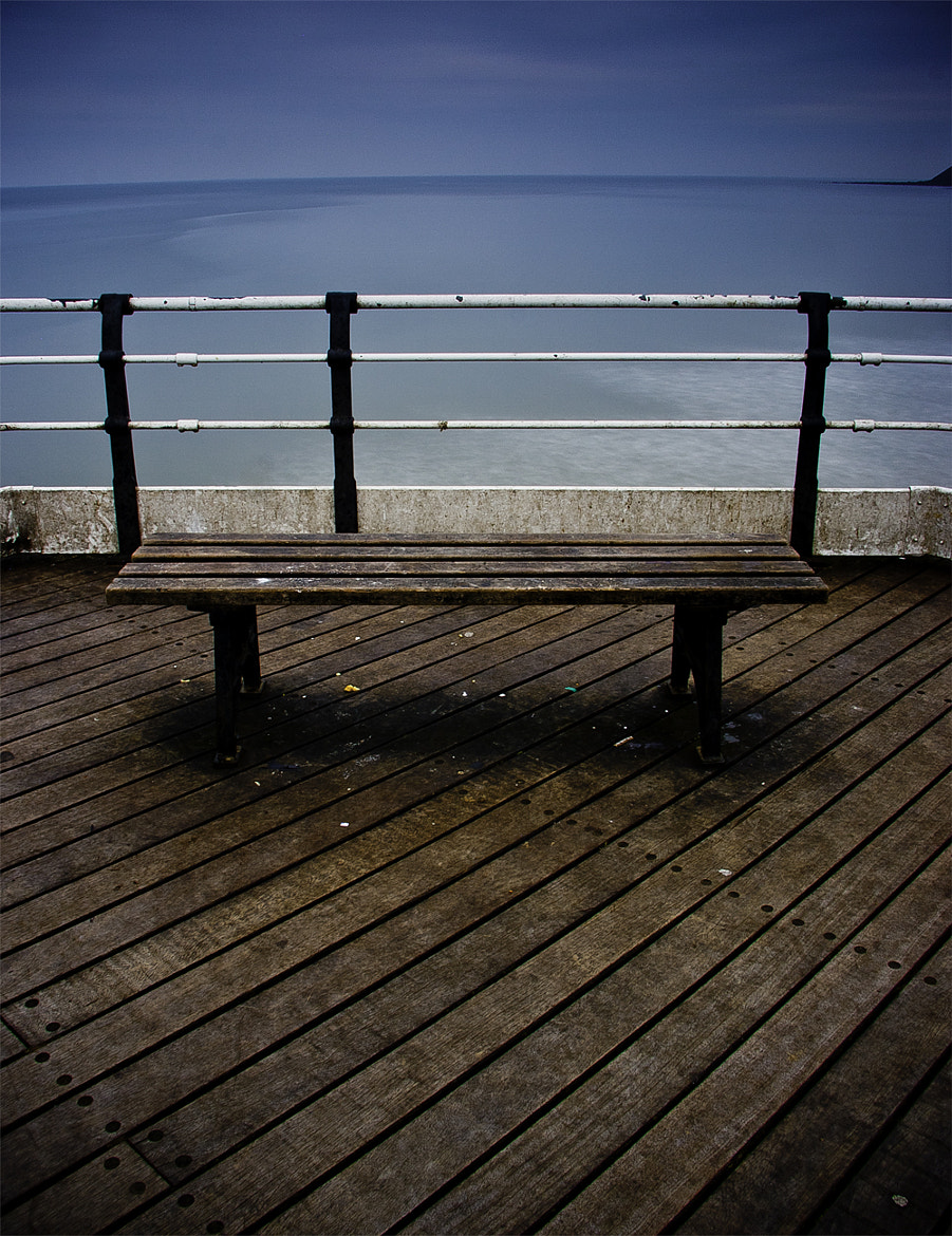 Photograph Coloured Bench by Tom Whitfield on 500px