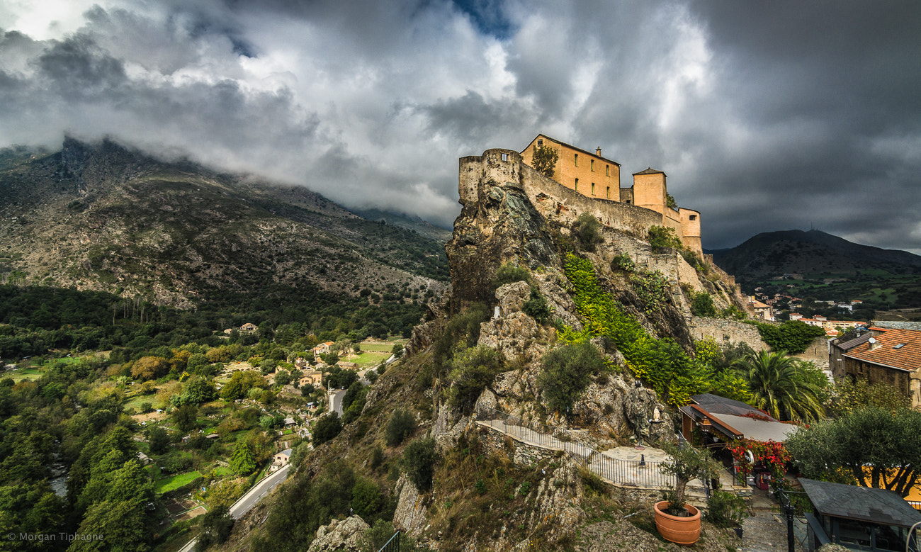Photograph Corte's citadel by Morgan Tiphagne on 500px