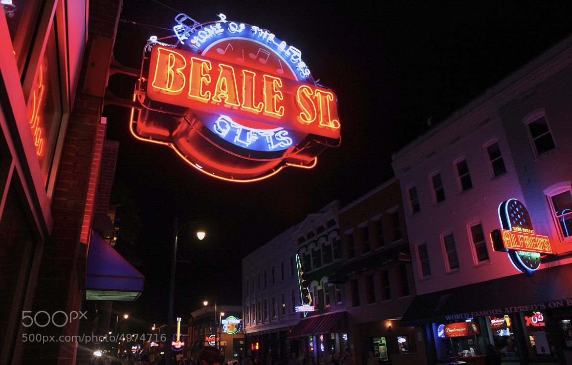Photograph Beale St by Kirsten Alana on 500px