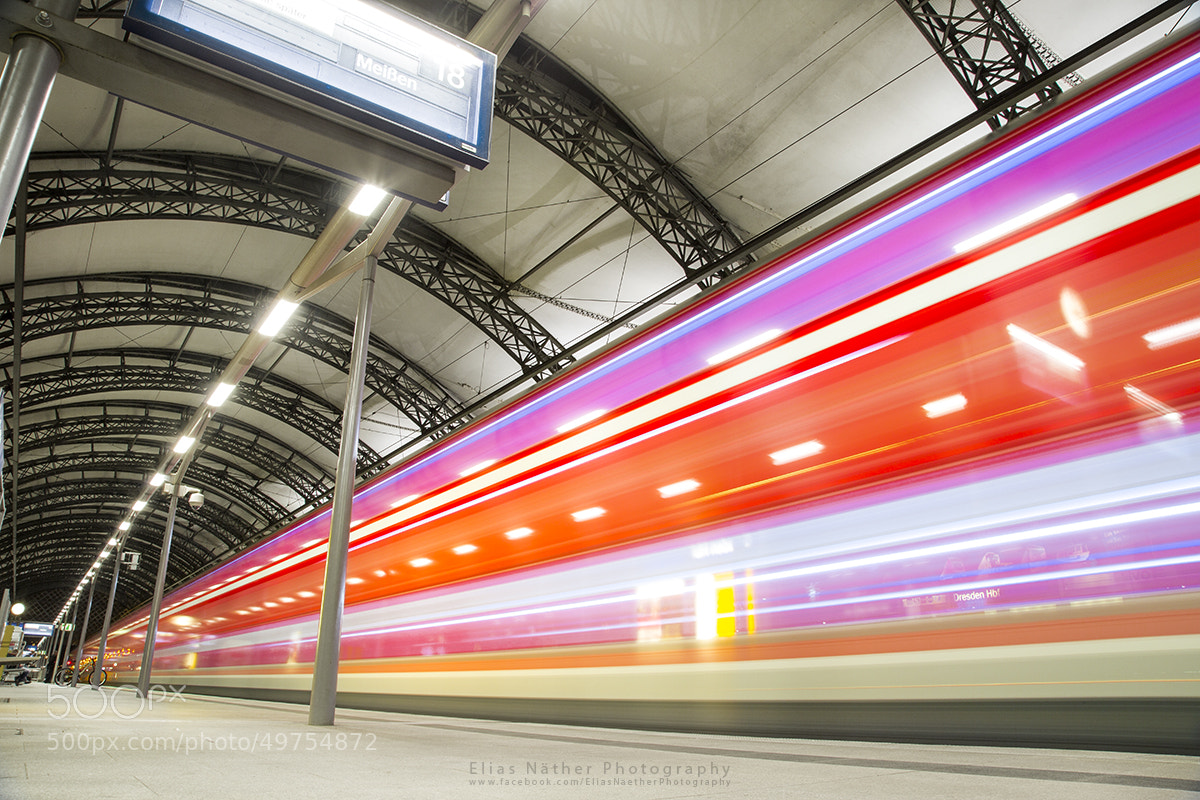 Photograph Dresden HBF by Elias Näther on 500px