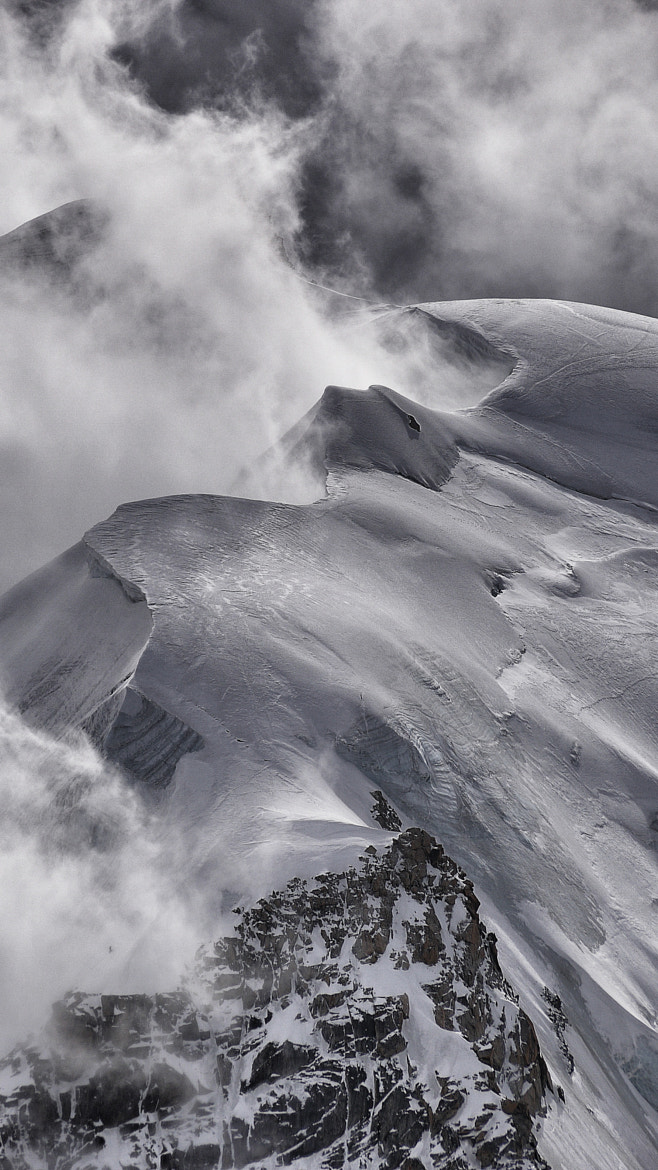 Photograph Storm on Mont Blanc by Tom Phillips on 500px