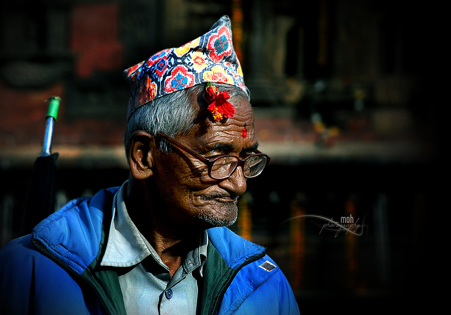 A Newari old man by Mohan Duwal on 500px.com
