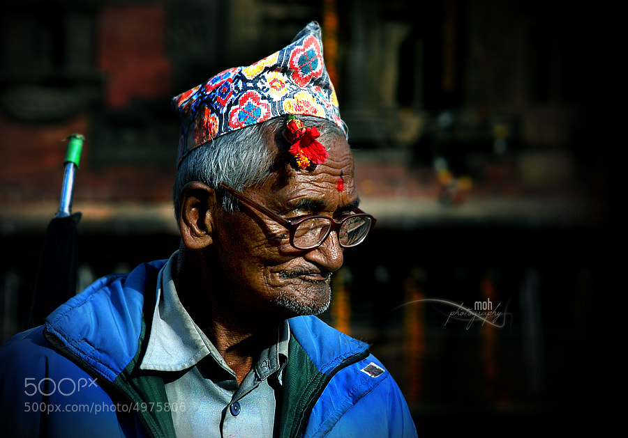 Photograph A Newari old man by Mohan Duwal on 500px