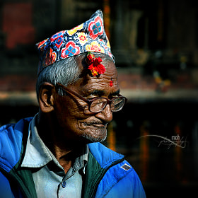 A Newari old man by Mohan Duwal (mkduwal)) on 500px.com