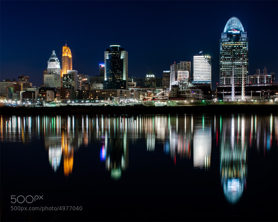 Photograph Cincinnati Skyline  by Jayson Gomes on 500px