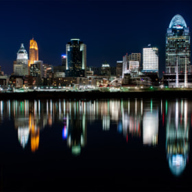 Cincinnati Skyline  by Jayson Gomes (cincinnati)) on 500px.com