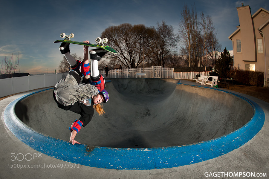 Photograph Frontside Invert by Gage Thompson on 500px