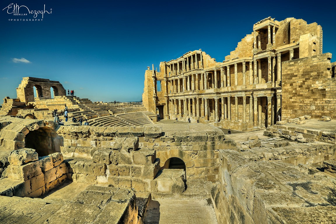 Photograph Theater  Sabratha by AbdallaH ElmezOghi on 500px