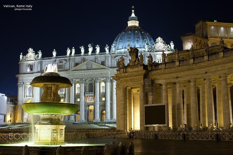 Photograph Vatican by Regie Fernando on 500px