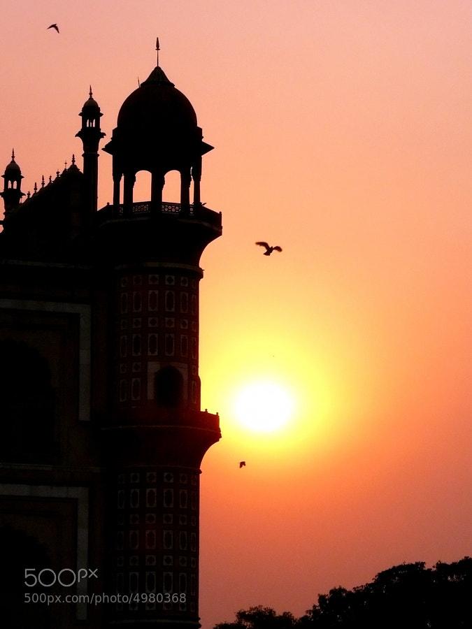 Sunset at Rajasthan, India