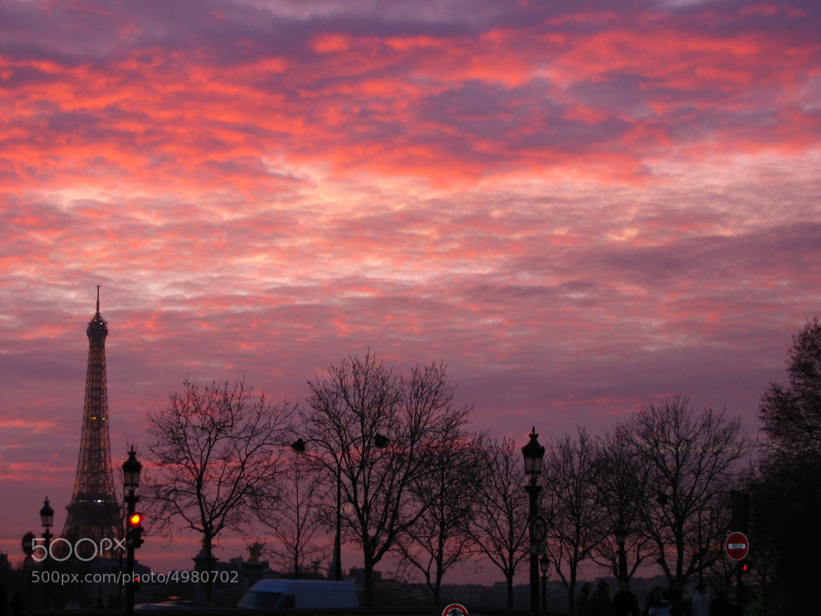 Photograph Autumn sky  ~ Paris by John Helios on 500px