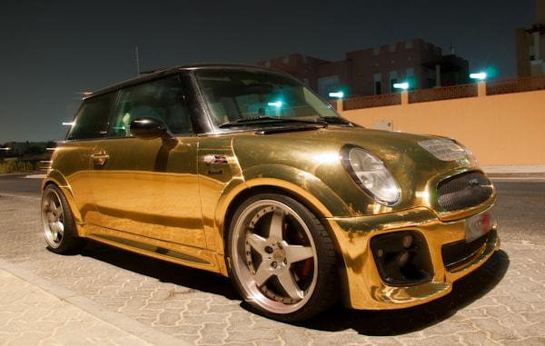 Photograph Gold Plated Mini in Dubai by fizzy wizzy on 500px