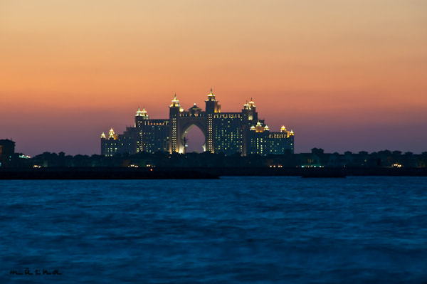 Photograph Dubai Atlantis at Sunset by fizzy wizzy on 500px
