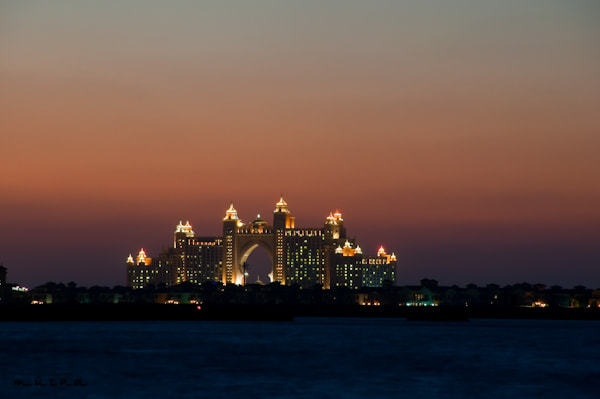 Photograph Sunset on Dubai Atlantis by fizzy wizzy on 500px
