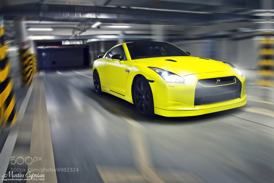 Photograph Nissan GTR by Martin Cyprian on 500px