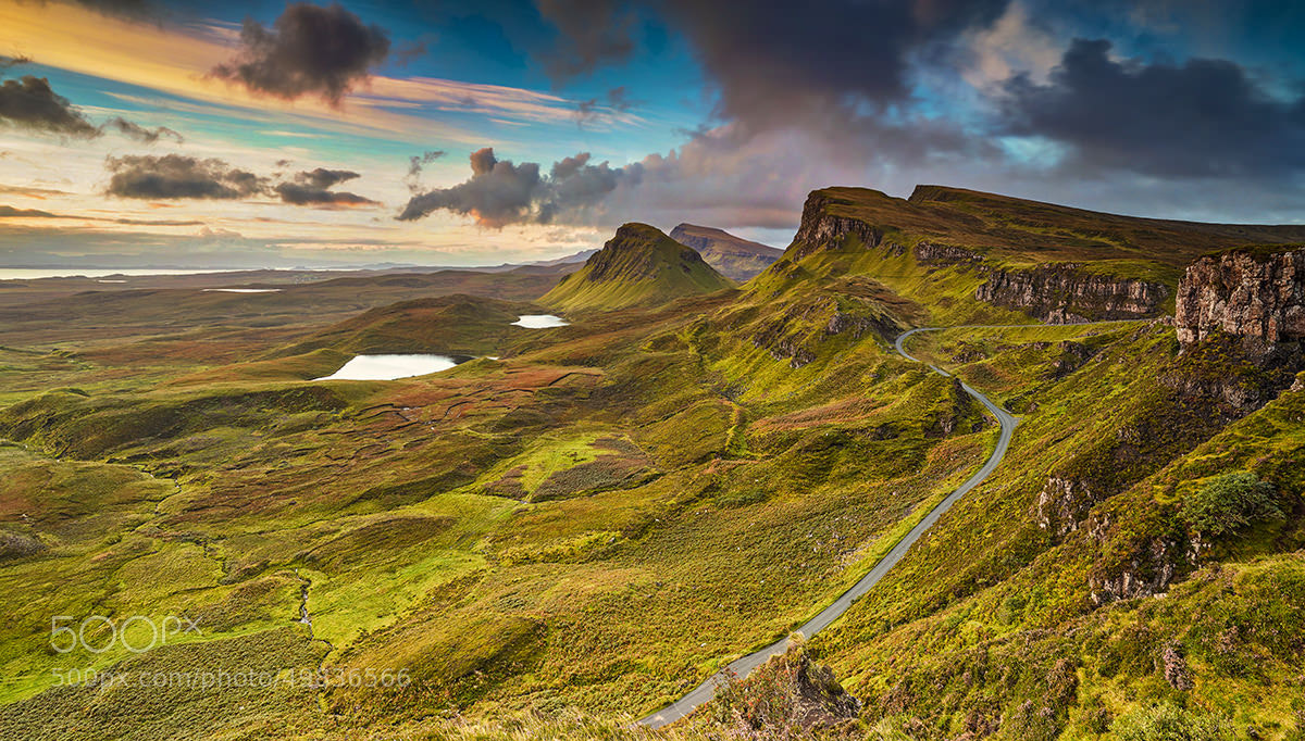 Photograph Quiraing, Isle of Skye, Scottish Highlands by Shahbaz Majeed on 500px