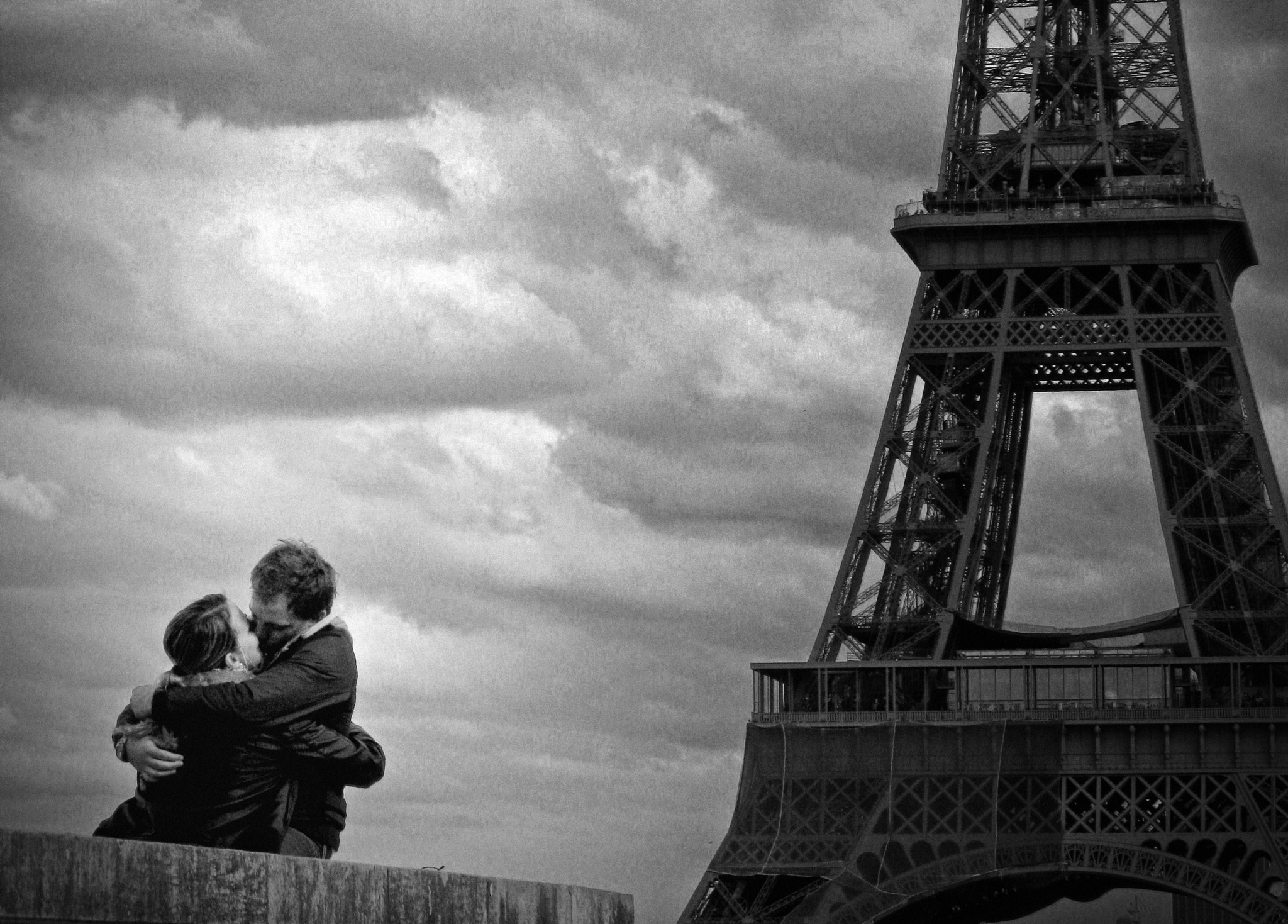 Photograph Le Baiser de la Tour Eiffel by Adrien S-F on 500px