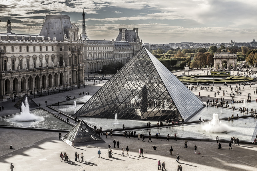 Le Louvre by Victor Alexandre on 500px.com