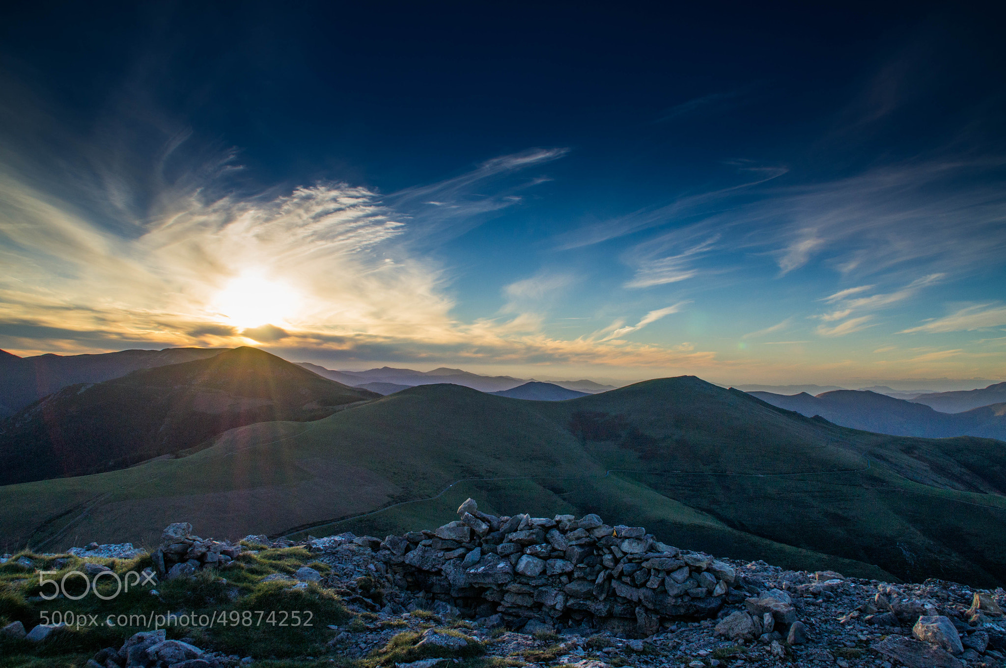 Photograph Sunset from Urkulu summit by Lluís Grau on 500px
