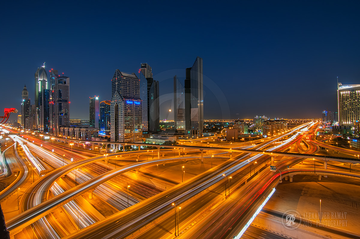 Photograph Rush Hour - Dubai by Alexander Ramat on 500px