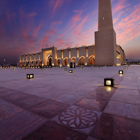 State Masjid of Qatar [ 2 ] by Jassim Ahmed (jassimphoto)) on 500px.com