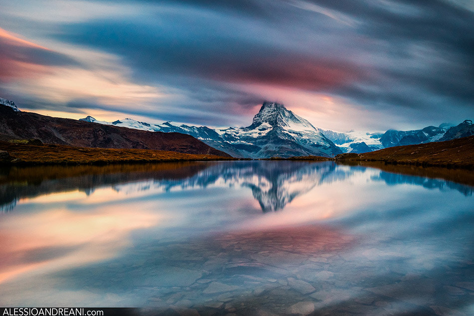 Photograph Matterhorn Flowing by Alessio Andreani on 500px