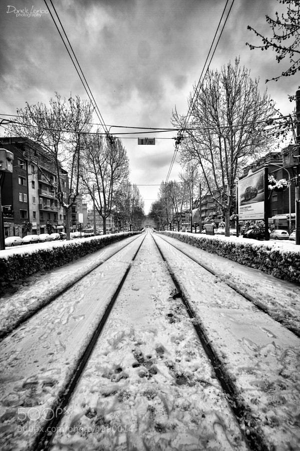 Snow on Rome by Daniele Lembo (DanieleLembo)) on 500px.com