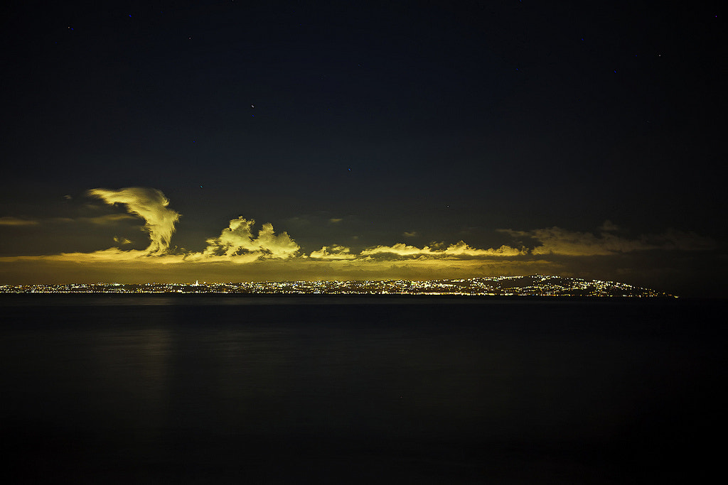 Photograph Algiers Bay... Night by Bougherbal Ammar Redouane on 500px